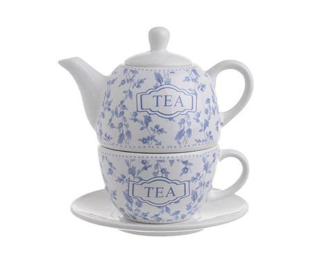 Set - čajnik s skodelico in krožničkom Tea