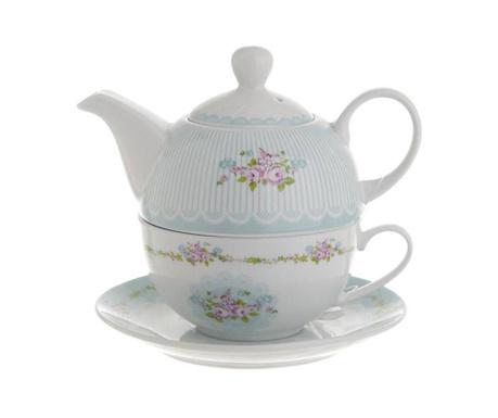 Set ceainic cu ceasca si farfurioara Sorenta