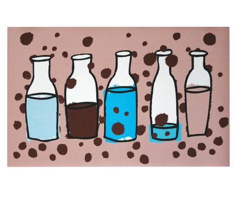 Килим Vinyl Milk Bottles