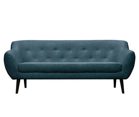 Canapea 3 locuri Piemont  Turquoise
