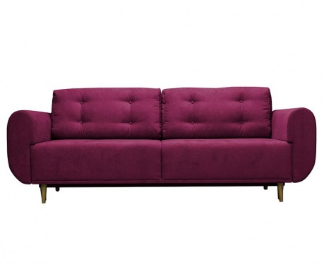 Canapea extensibila 3 locuri Venise  Purple