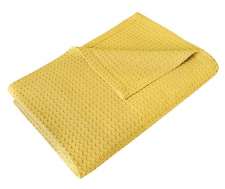 Přehoz Rami Yellow 230x240 cm