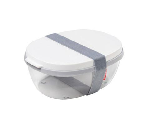 Κουτί μεσημεριανού γεύματος Ellipse Fresh White