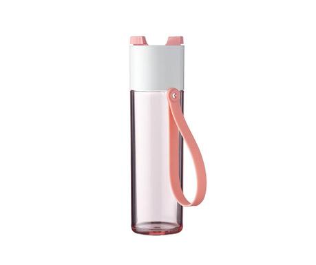 Αθλητικό μπουκάλι Justwater Nordic Pink 500 ml