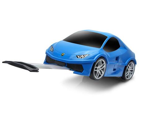Otroški kovček s kolesi Lamborghini Blue 18 L