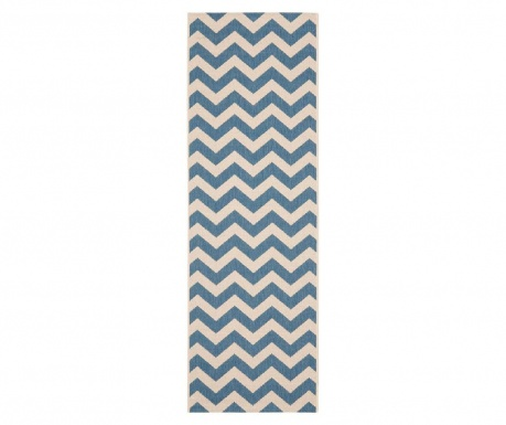 Chelsea Blue Beige Szőnyeg 68x243 cm