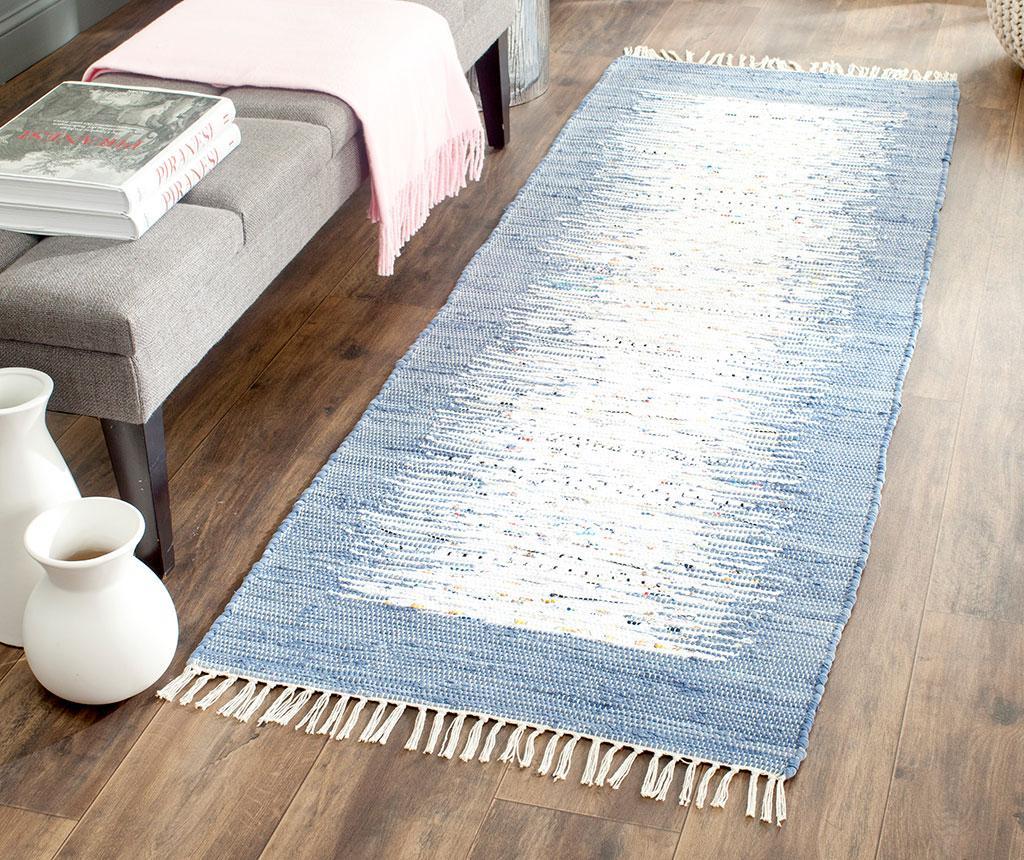 Tepih Saltillo Ivory Dark Blue 68x213 cm