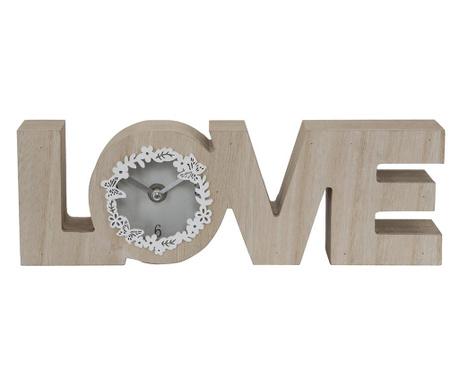 Stolové hodiny Live Laugh Love