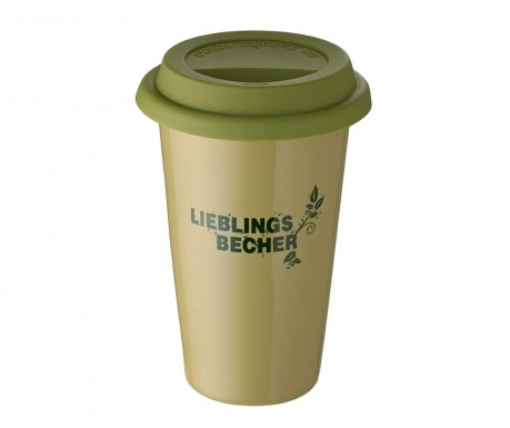 Cana de calatorie Coffee Green 300 ml