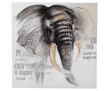 Elephant Side Kép 80x80 cm