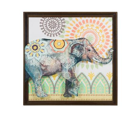 Obraz Happy Elephant 71x71 cm