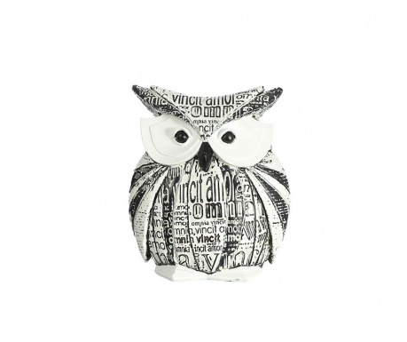 Decoration Owl Black and White