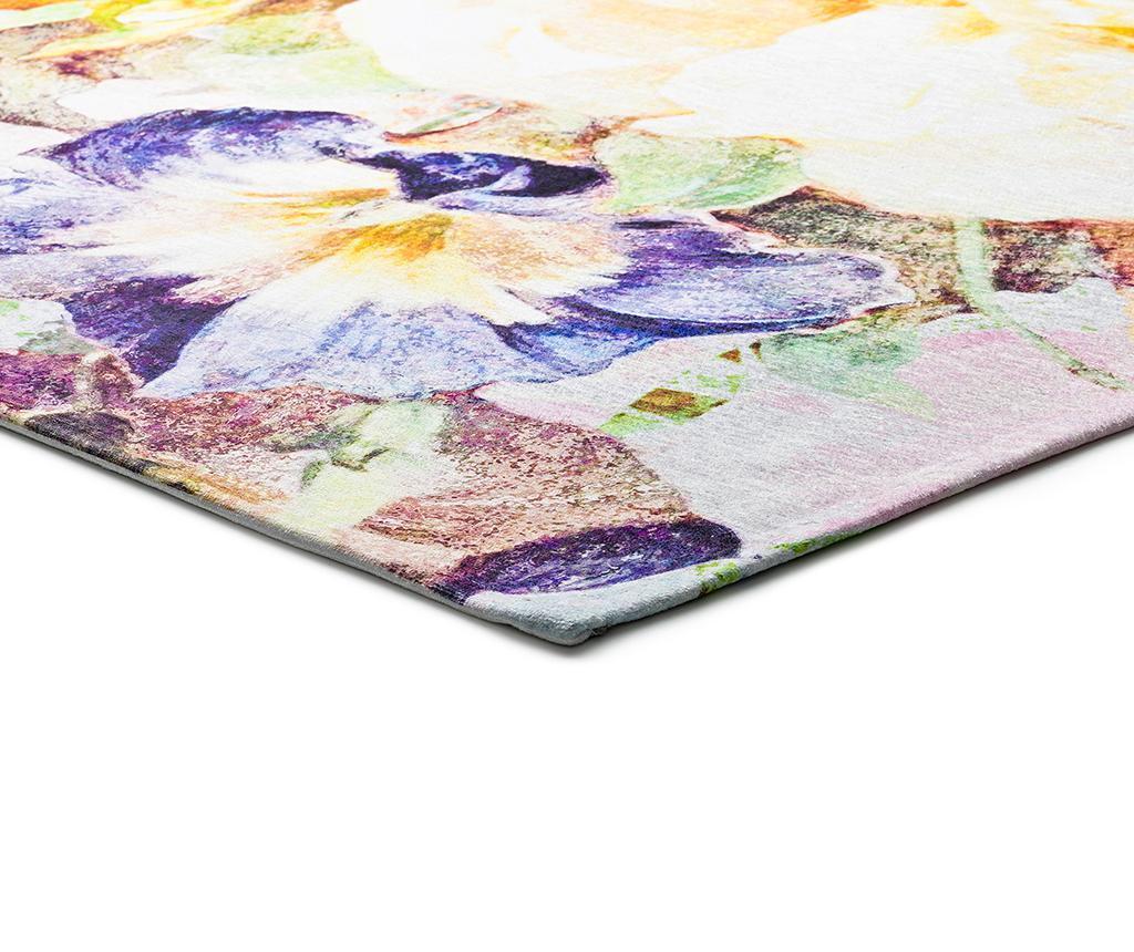 Preproga Chenille Floral 140x200 cm
