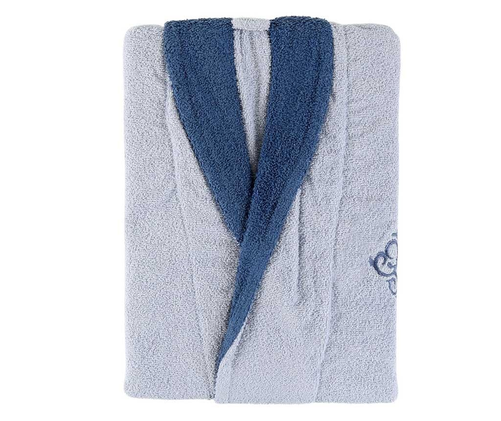 Muški kupaonski ogrtač Daily Blue M/L