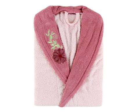 Daily Pink Flower Női fürdőköpeny S/M