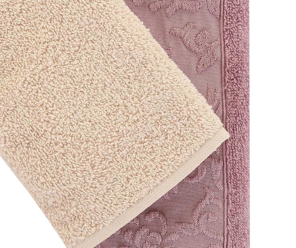 Set 6 kupaonskih ručnika Wash Lilac 30x50 cm