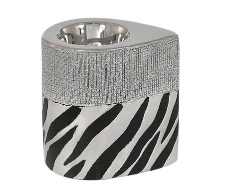 Podstavec na sviečku Zebra Print