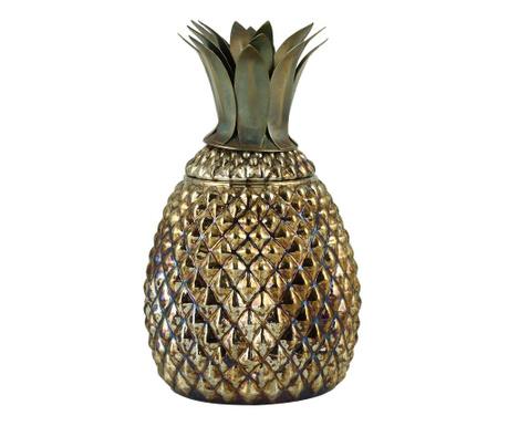 Dekoračná nádoba s vekom Pineapple