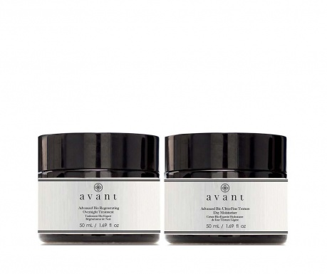 Set of daily face cream and night face cream Advanced Bio
