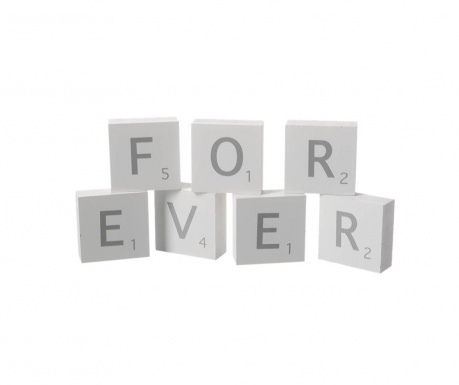 Dekorácia Forever Blocks