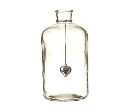 Dekoračná fľaša Heart Charm
