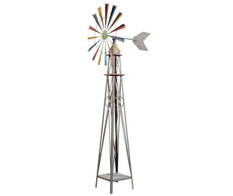 Dekorácia s veterným mlynom Retro