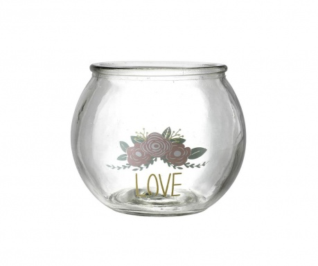 Candle holder Love & Roses