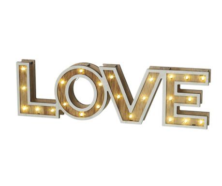 Dekoracja świetlna Love