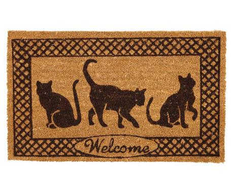 Wycieraczka Welcome Cats 45x75 cm