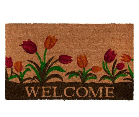 Rohožka Welcome Tulips 45x75 cm