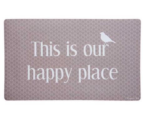 Wycieraczka Our Happy Place 45x75 cm