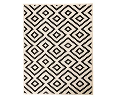 Koberec Zone White 117x170 cm