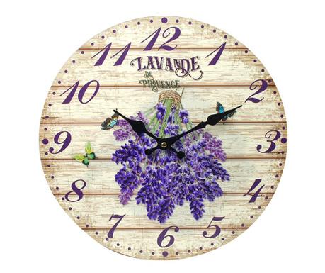 Nástenné hodiny Lavande
