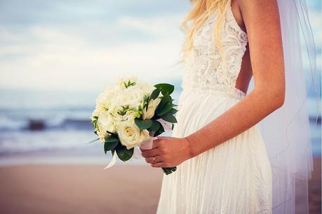 Svatba na břehu moře