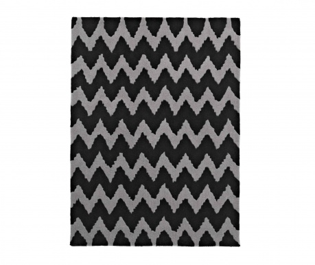 Koberec Hong Kong Black Grey 120x170 cm