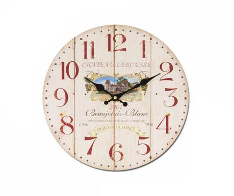 Wall clock Grand Vin