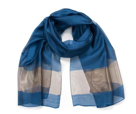 Apaszka Fine Blue 70x196 cm