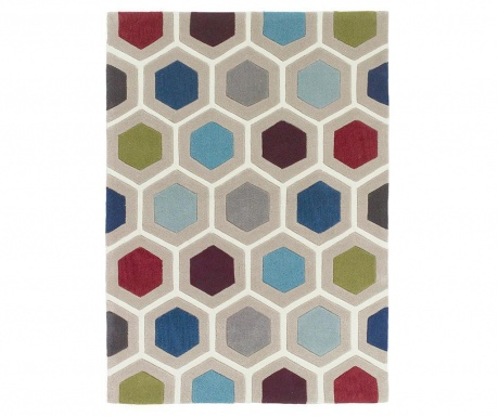 Dywan Chroma Hexagonal Multicolor 120x170 cm