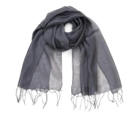 Šátek Floria Grey 70x180 cm