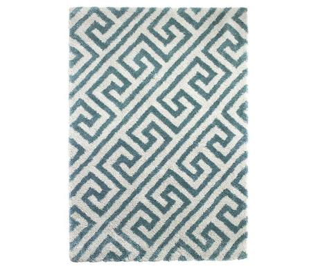 Koberec Royal Nomadic Maze Cream Blue 120x170 cm