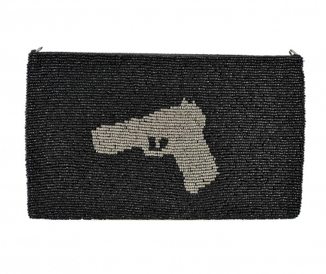 Envelope bag Gun Silver