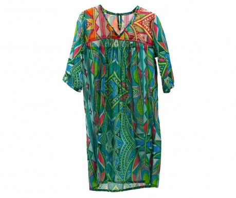 Beach dress Kurta Green