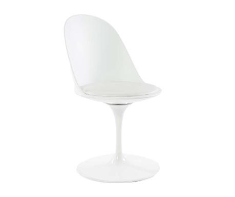 Otočná židle Granada White