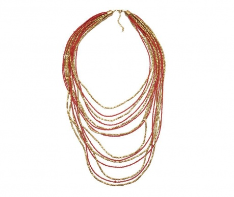 Necklace Red Lines