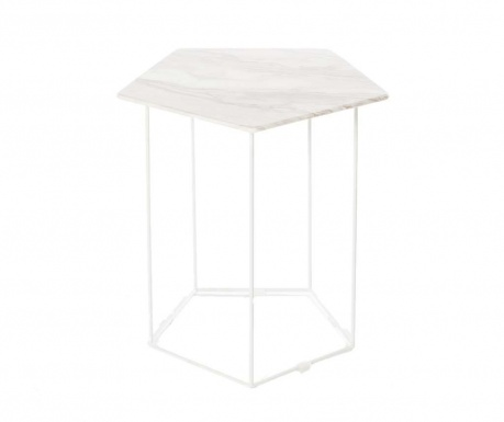 Side table Trieste White