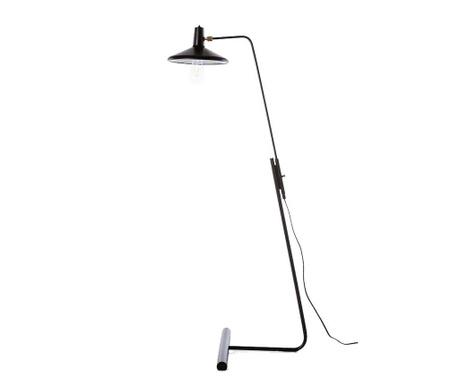 Podlahová lampa Roma Black