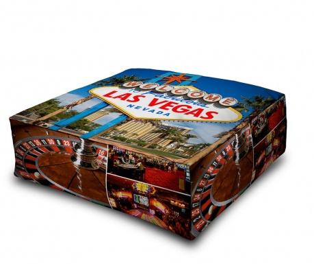 Floor cushion Welcome Las Vegas 60x60 cm