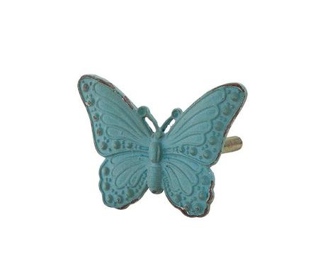 Gałka do szuflady Blue Butterfly