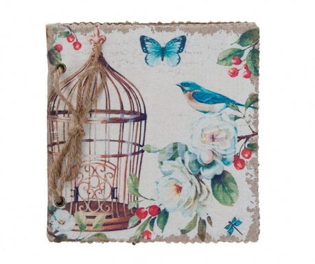 Diář Bird Cage Blue