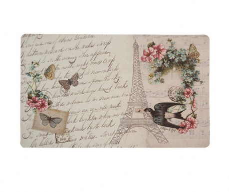 Wycieraczka Paris Flowers 44x74 cm